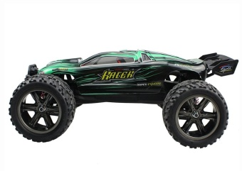 Colof 1/12 Full Proportional 2.4GHz 2WD Remote Control Off RoadMonster RC Hobby Truck 35MPH+ High Speed Radio Controlled ElectricTruggy Buggy Cars RTR(Green) - intl - 5