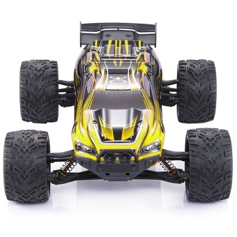 Colof 1/12 Full Proportional 2.4GHz 2WD Remote Control Off RoadMonster RC Hobby Truck 35MPH+ High Speed Radio Controlled ElectricTruggy Buggy Cars RTR(Yellow) - intl - 2