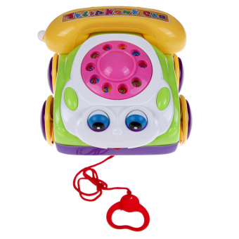 Colorful Children's Fun Music Phone Toy Basics Chatter TelephoneKids Toys Price Philippines