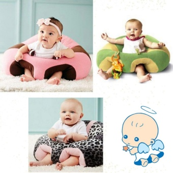 Comfortable Baby Learning To Sit Safety Chair Baby Support SeatSofa Plush Toys Type F - intl - 4