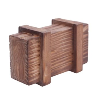 Compartment Magic Wooden Puzzle Box Puzzle Wooden Secret Trick
