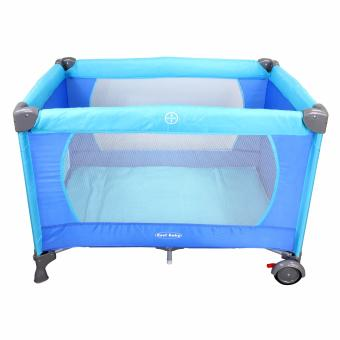 Cool baby Crib Nursery Play yard Playpen Baby gear BLUE