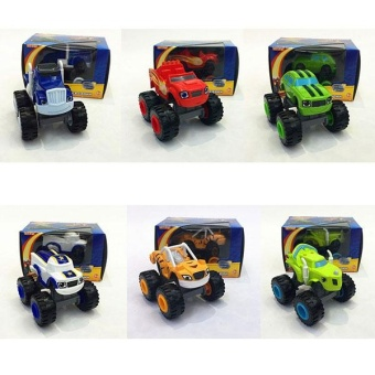 Cool baby Kids Baby Blaze And The Monster Machines Vehicles Diecast Car Toys Good Gifts - intl - 4