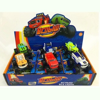 Cool baby Kids Baby Blaze And The Monster Machines Vehicles Diecast Car Toys Good Gifts - intl - 5