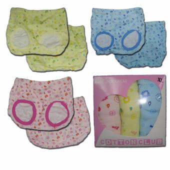 Cotton Club Baby Diaper Cover for Girl - Size - Large