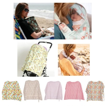 Cotton Mother Breastfeeding Cover Baby Feeding Apron Cloth#RedPlaid - intl Price Philippines