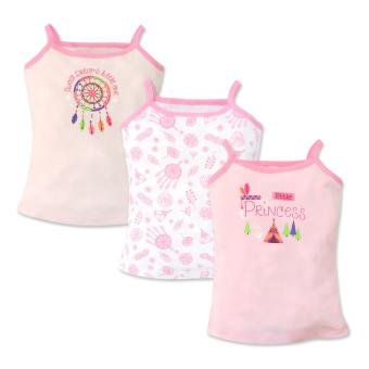 Cotton Stuff - 3-piece Strappy Top (Little Princess) 9-12 Months