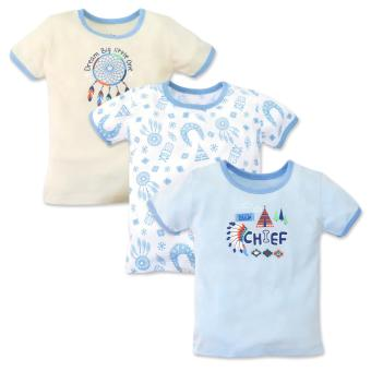 Cotton Stuff - 3-piece T-Shirt (Little Chief) 3-6 Months