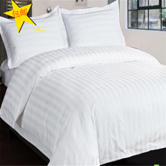 Cotton White Hotel Quilt Cover