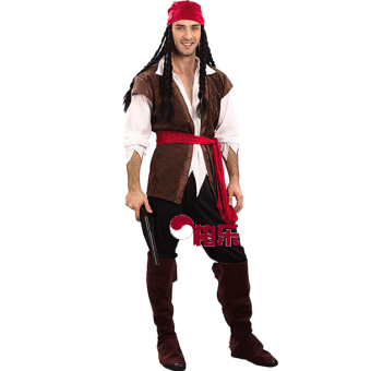 Couple's Halloween men pirate adult clothing