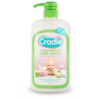 Cradle Baby Bottle and Nipple Cleanser / Wash 700mL