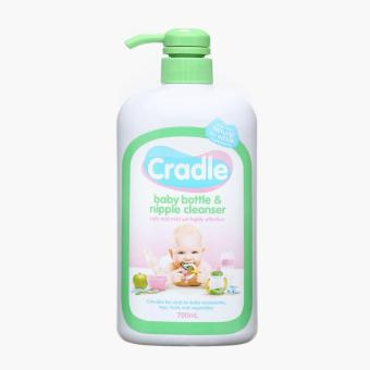 Cradle Feeding Bottle and Nipple Cleanser 700ml
