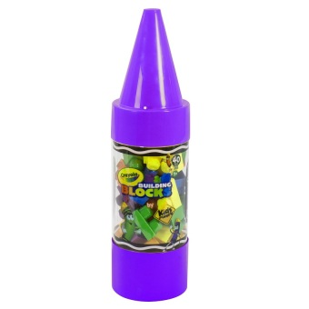 "Crayola Kids@Work 40-Piece Blocks in 22"" Crayon Tube (Purple) Price Philippines"