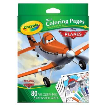 crayola mini coloring pages with markers disney cars