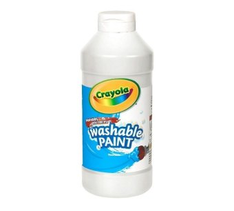 Crayola Washable Paint 473.1ml (White) Price Philippines