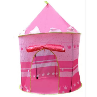 Cubby House Tent for Kids (Pink)