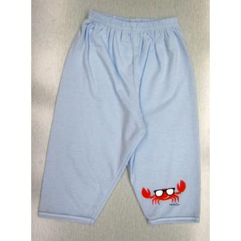 Curity Infant Boy Pajama 3in1 Medium Crabby Design - 2