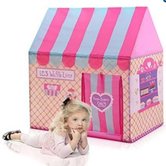 Cute and Fun Shop Play Tents Kids Play House Princess Castle for Indoor and Outdoor Play