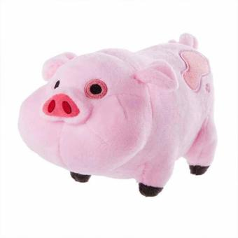 Cute Gravity Falls Pink Pig Plush Stuffed Soft Toy Animal Doll Kids Gift - intl