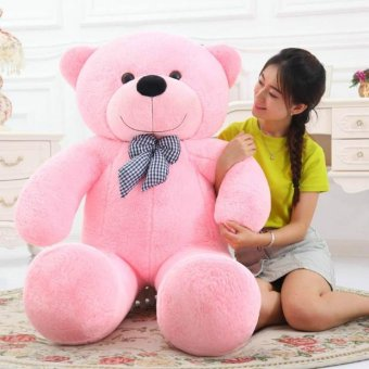Cute Pink Stuffed Toys Animal Teddy Bear Plush Soft Toy 80CM - intl