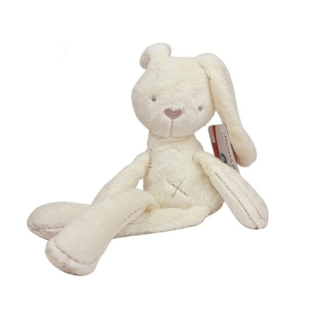 Cute Soft Good Rabbit Bunny Plush Toy Doll For Kids Babys Xmas Gift (Intl)