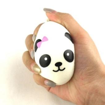Cute Soft Panda Squishy Kawaii Buns Bread (M) - intl - 2