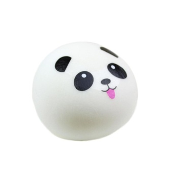 Cute Soft Panda Squishy Kawaii Buns Bread (S) - intl