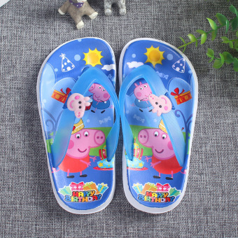 Cute summer boy's girls slippers children's slippers