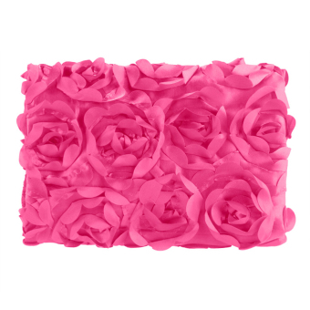 Cyber Fashion Newborn Baby 3D Photography Photo Props Rose Flower Backdrop Blanket Rug(Rose Red)