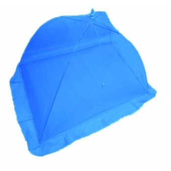 Dark Blue Plain Mosquito Net for Baby