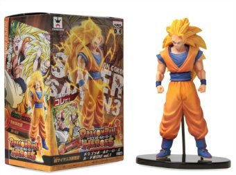 DBZ Dragon Ball Heroes Super Saiyan 3 Son Goku Action Figure