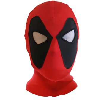 Deadpool Mask X-Men Mask Halloween Costume Hood Cosplay Headwear Full Face Mask - intl