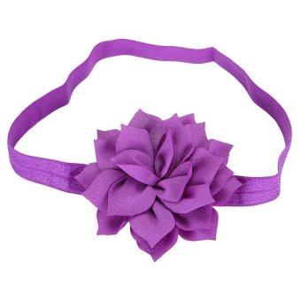DHS Baby Girls Flower Head Band Hair - Intl