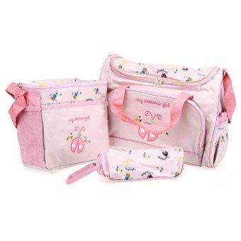 DHS Diaper Shoulder Handbag 4 piece Set - Intl - picture 2