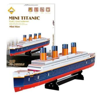 DHS Educational 3D Model Movie Titanic Ship DIY Toy 30 Pcs (Intl) - picture 2