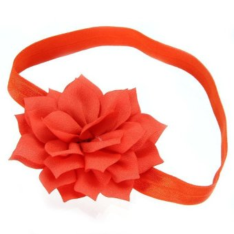 DHS Flower Hair Band Headband Hair Accessories - Intl
