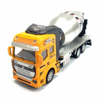 Die Cast Pull Back Super Builders Truck