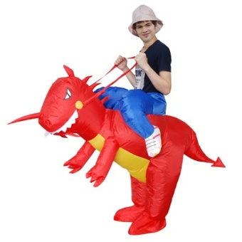 Dinosaur inflatable figurine Christmas inflatable clothing