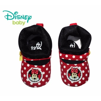 Disney Baby Minnie Mouse with Ribbon and Polka Dots Design