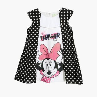 Disney Girls Fabulous Minnie A-line Dress (White) Price Philippines