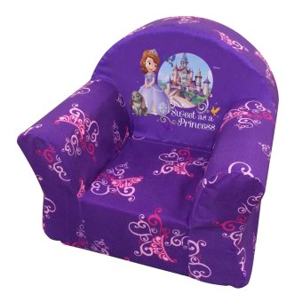 Disney Kiddie Sofa Sofia Small (Purple)