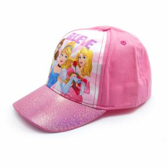 Disney Princess Satin Cap & Fashion Belt - 4