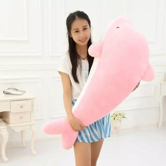 Dolphin Stuffed Animal Plush Toy Pillow Gift For Children (30CM,Pink) - intl