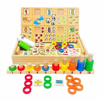Donuts Number Crunching Board - Wooden Educational Toy