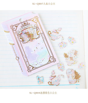 Dreamy princess Korean-style New style fairy tale notebook adhesive paper