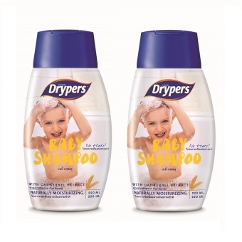 Drypers Baby Shampoo 220ml Pack of 2 Price Philippines