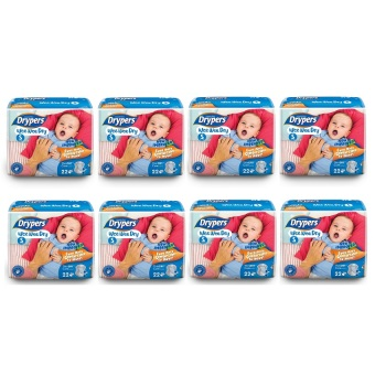 Drypers Wee Wee Dry Diapers Regular Pack Small 22's Pack of 8 Price Philippines