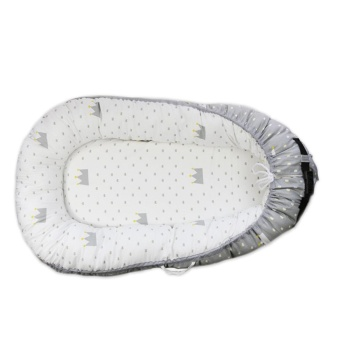 DSstyles Baby Crib Newborn Baby Portable Multi-functional Baby BedBaby Nest Child Supplies,Baby crown - intl