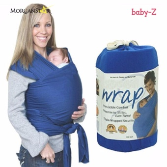 Eco Cub Moby Baby Wrap Carrier for Comfortable Baby Wearing (Royal Blue)