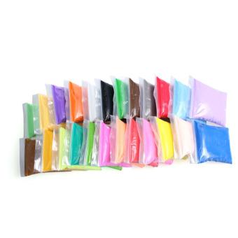 eMylo DIY 24 Colors Soft Sticky Plasticine Clay Blocks